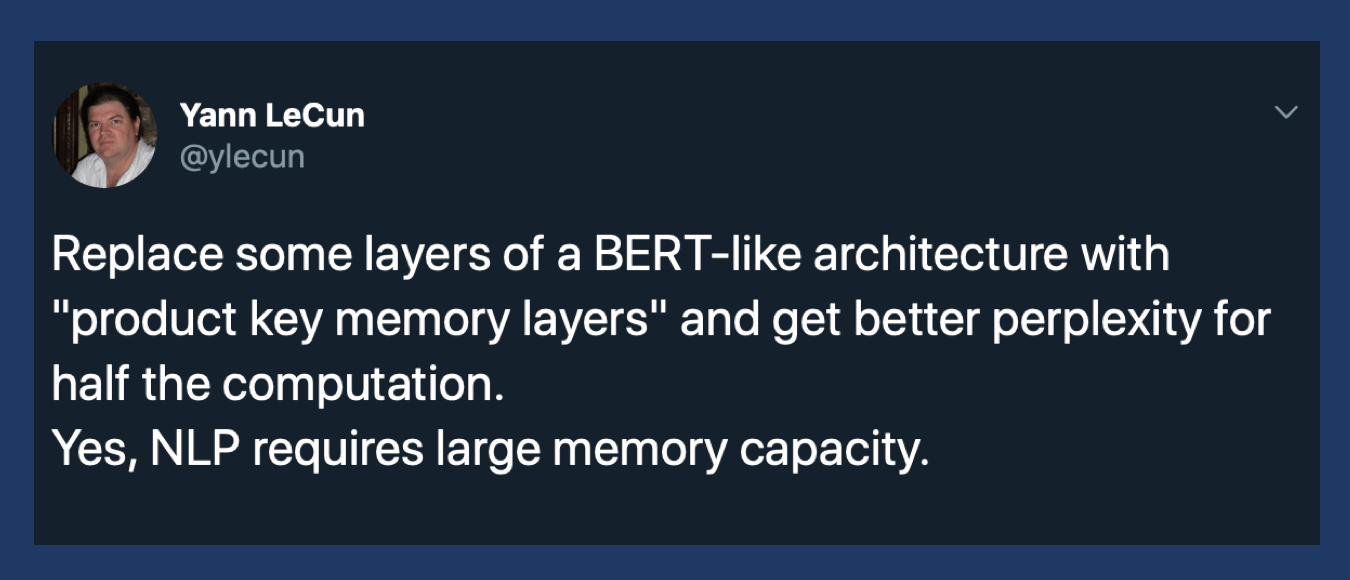 Facebook AI Memory Layer Boosts Network Capacity by a Billion