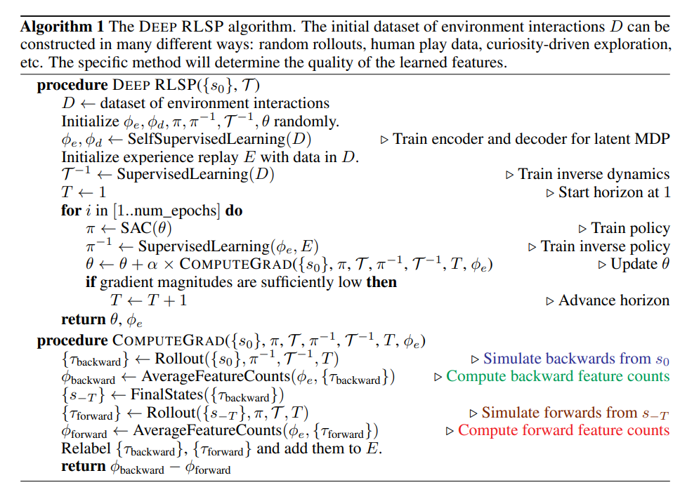 ETH Zurich & UC Berkeley Method Automates Deep Reward-Learning by Simulating the Past