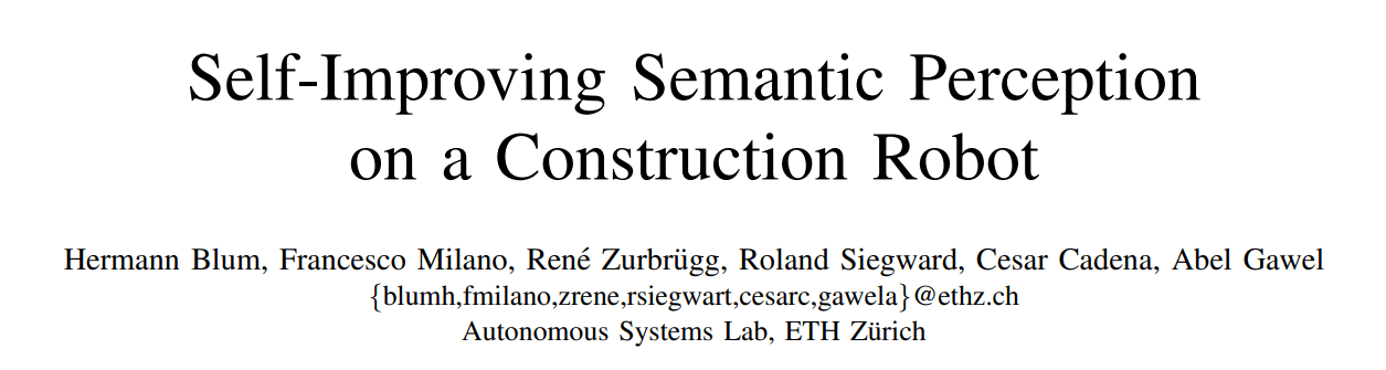 ETH Zurich Proposes a Robotic System Capable of Self-Improving Its Semantic Perception