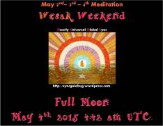 sync wesak weekend buddha black bg