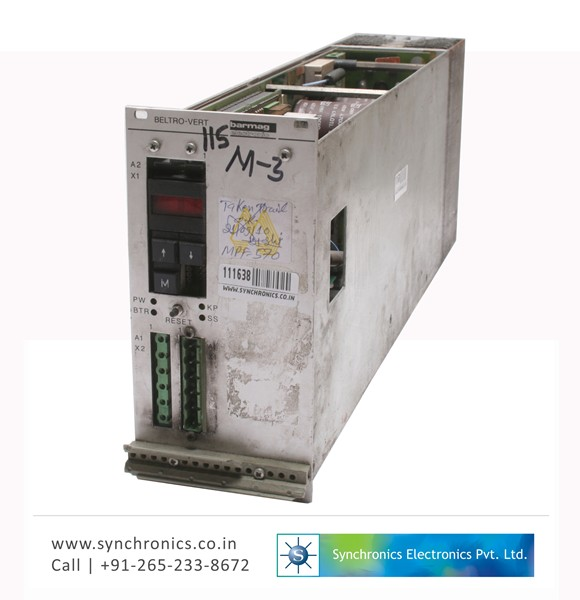 Interface card By Barmag Repair at Synchronics Electronics ...