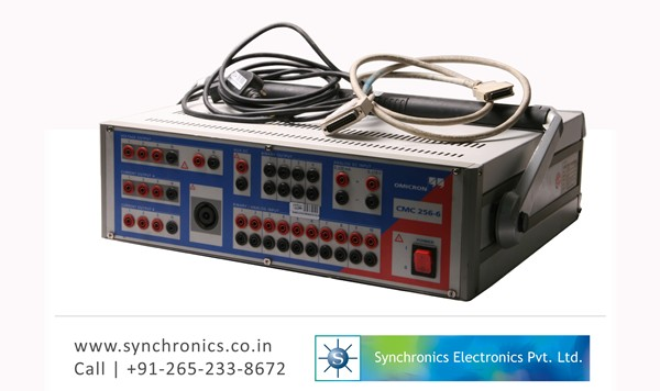 CMC 256-6 Relay Test Set By Omicron Repair at Synchronics