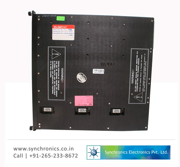 Out put card Plc By Triconex Repair at Synchronics ...
