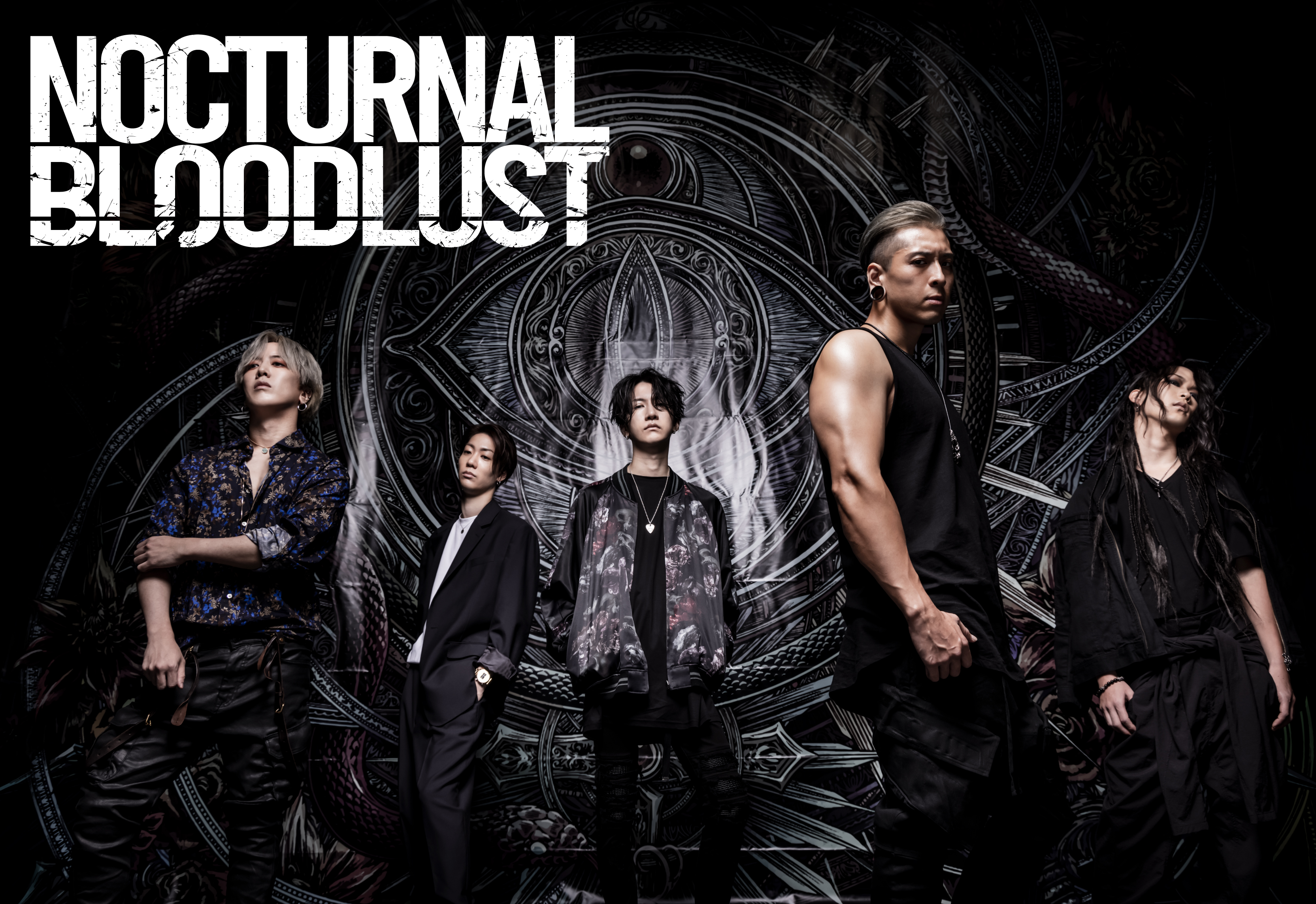 "NOCTURNAL BLOODLUST, From its Mini-Album ""The Wasteland"", On Sale December 16,  Music Video for ""FACELESS"" Revealed!"