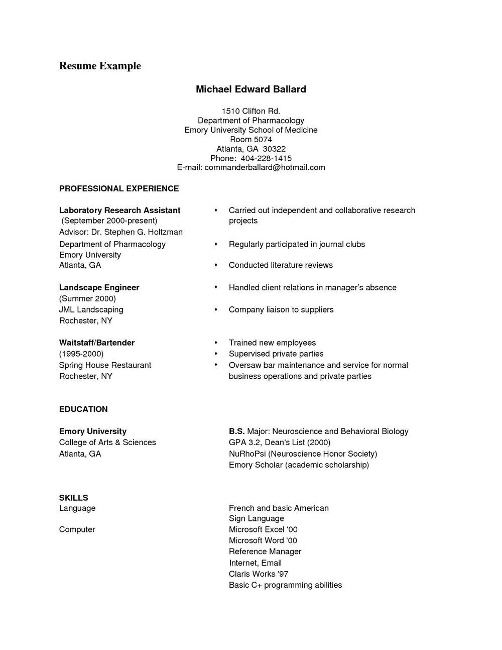 Monster Resume Writing Services