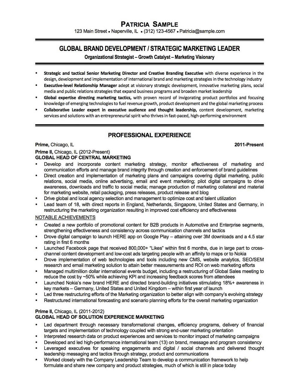 Resume Writing Services Chicago