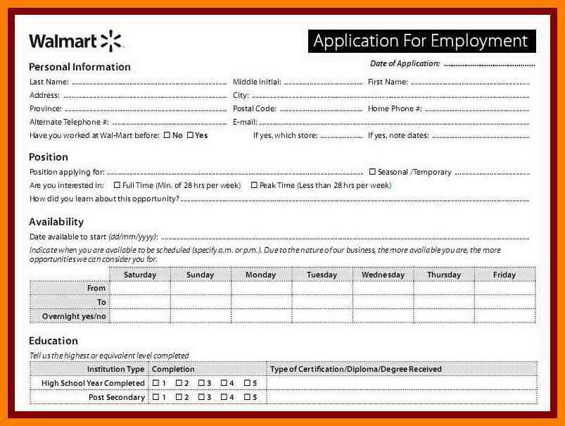 Walmart Cashier Job Application Online