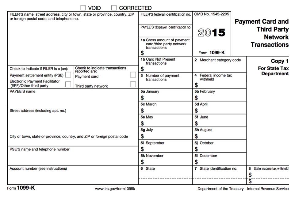 1099 Form 2015 Printable