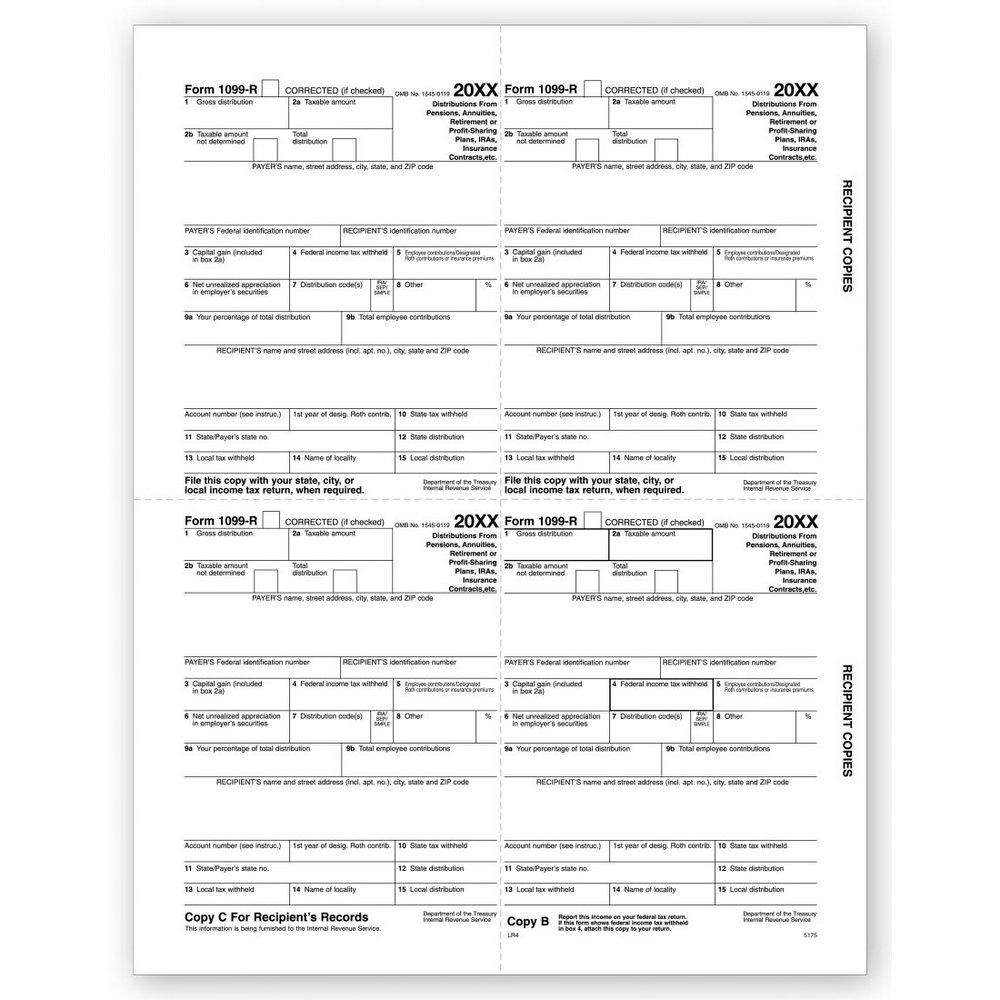 Tax Forms 1099 Printable