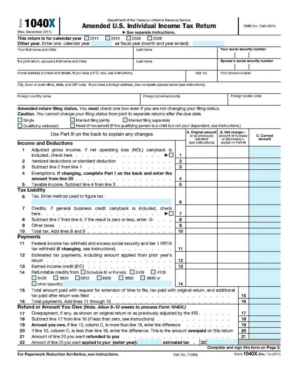 1040ez Online Form Free