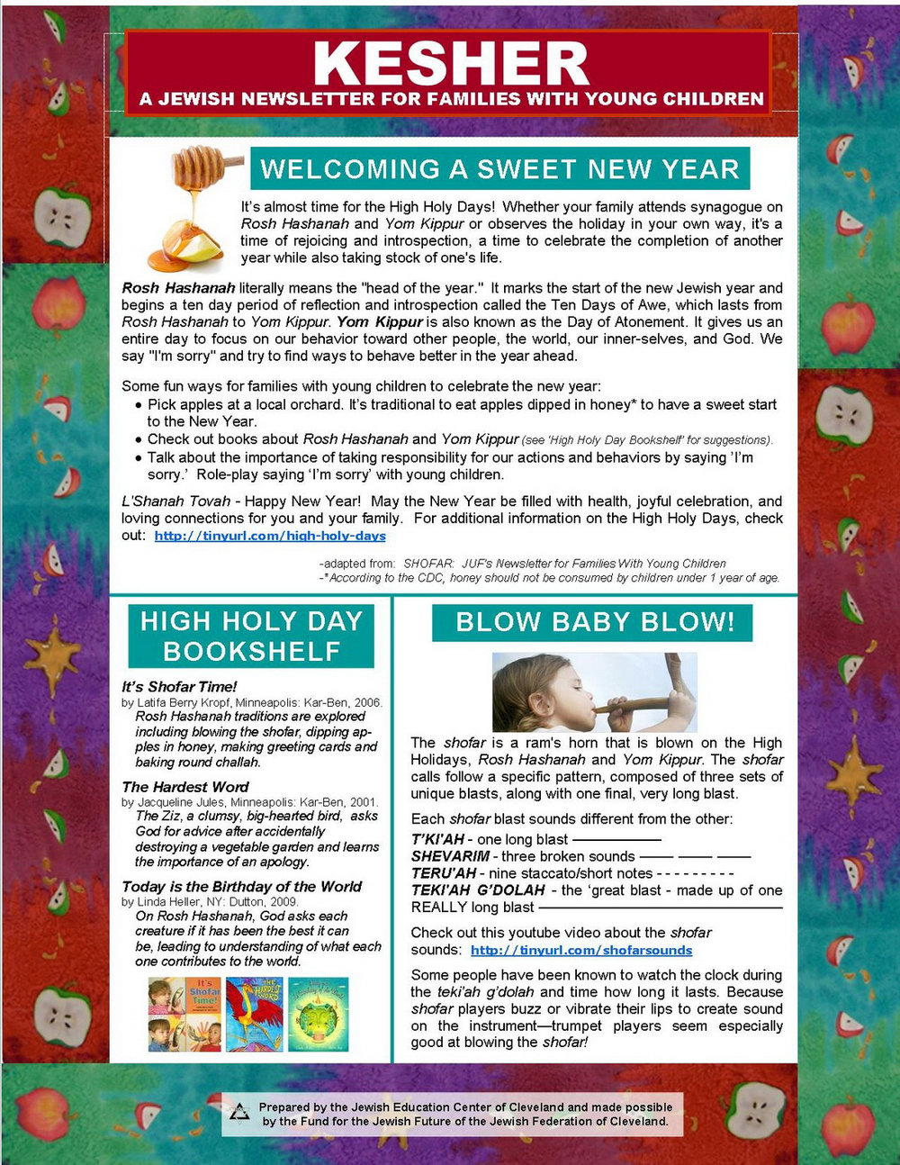 Fall Newsletter Templates Publisher