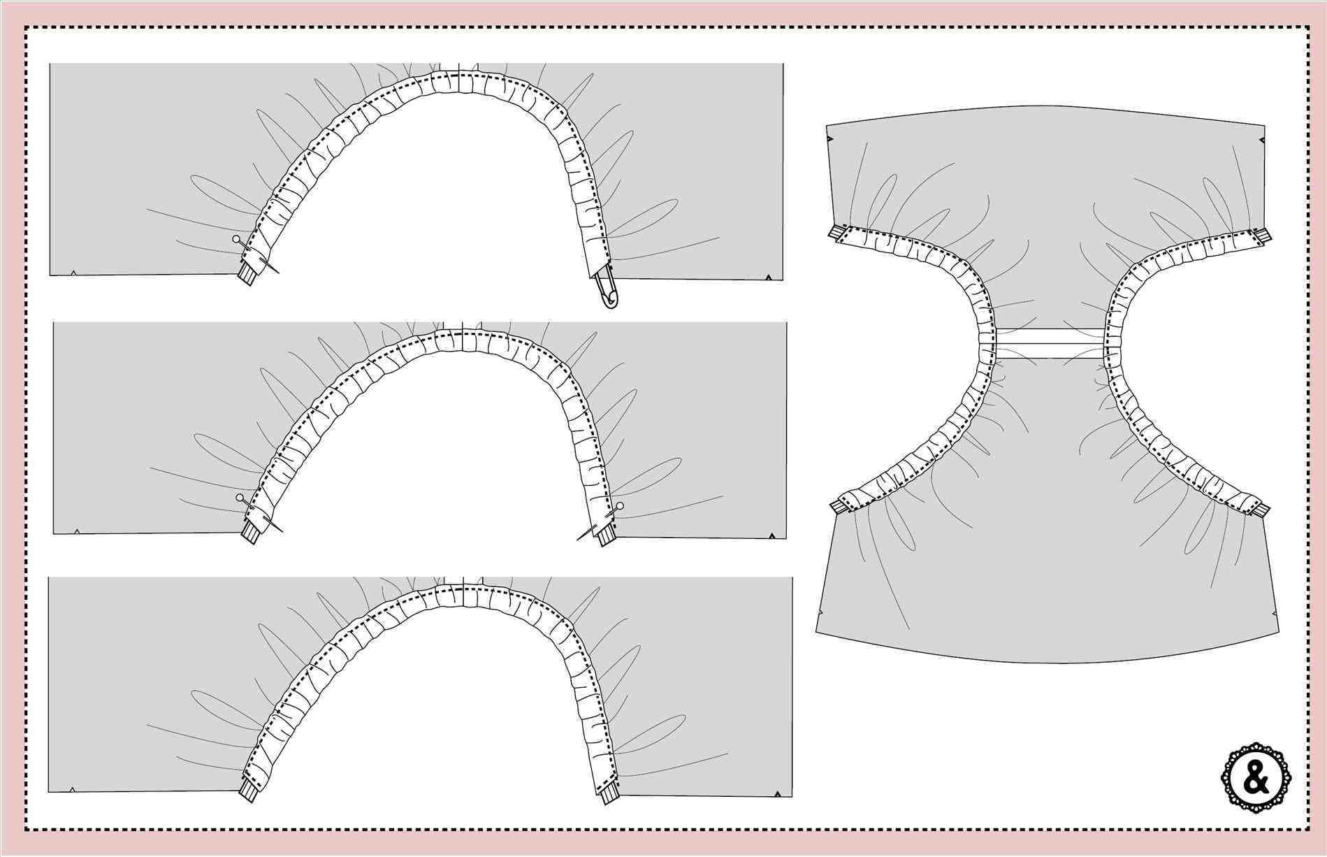 Outline Diaper Invitation Template