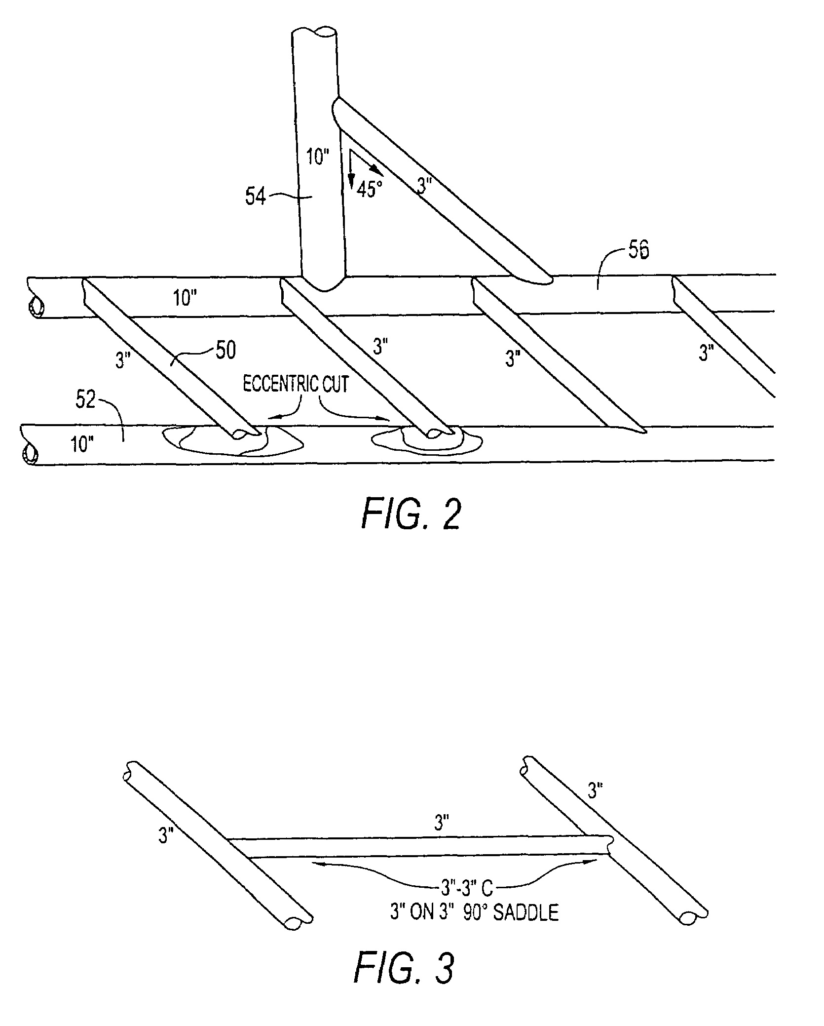 Pipe Saddle Template Calculator