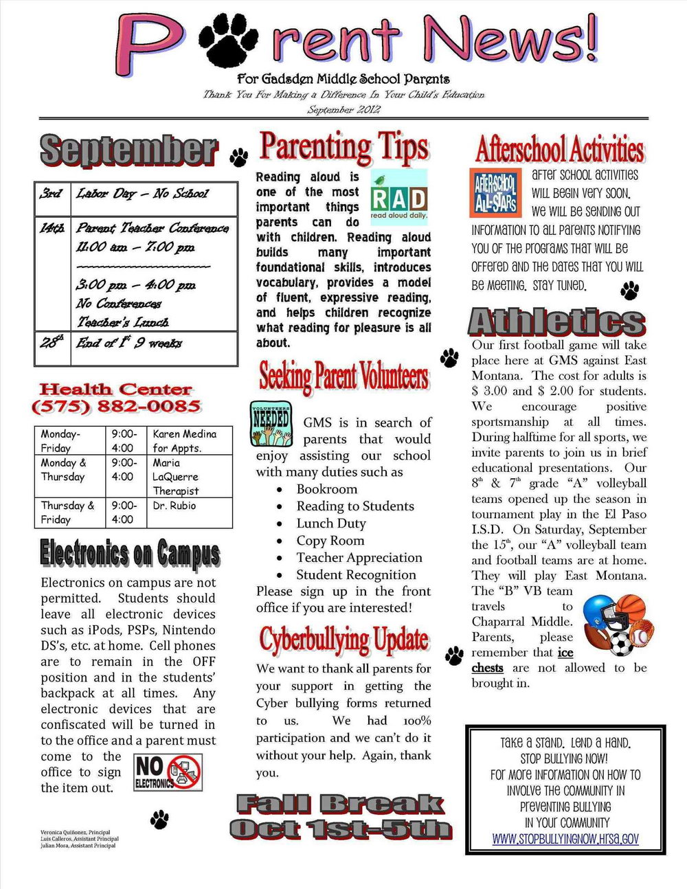 Preschool Newsletter Templates Free Download