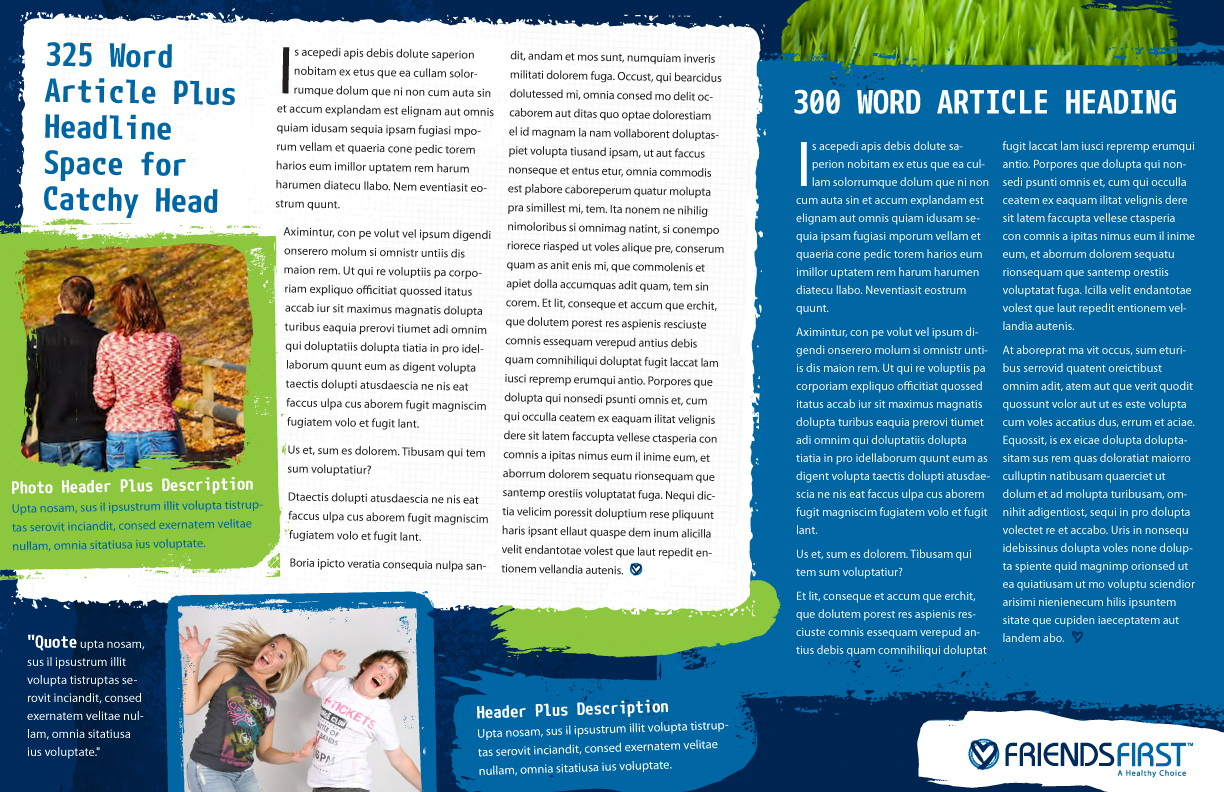 Charity Newsletter Templates Free