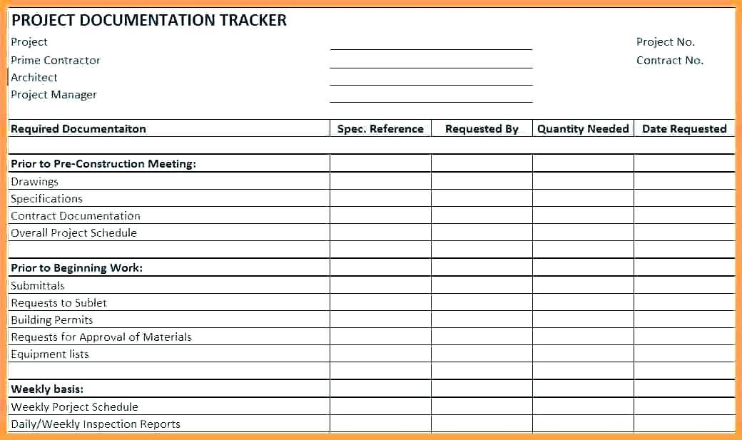 Daily Construction Log Template Free
