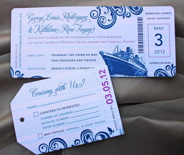 Dinner Cruise Invitation Template