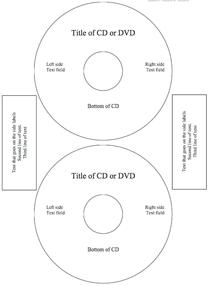 Avery Cd Labels Template 8931