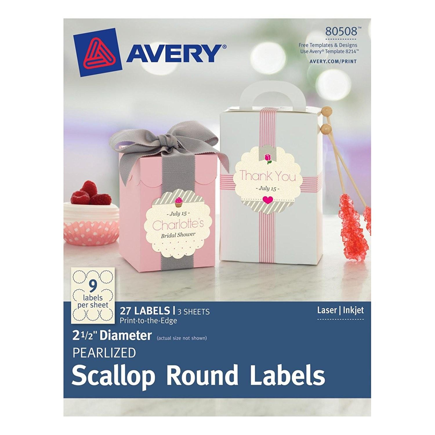 Avery Circle Labels Template