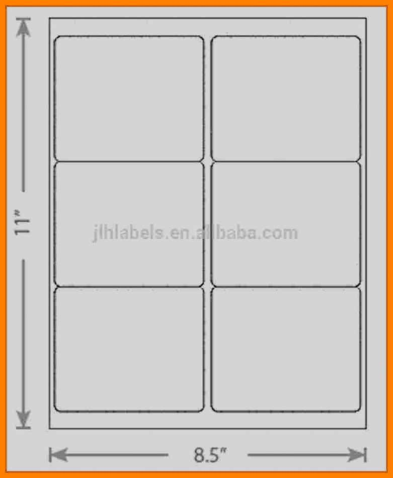 Avery Labels Template 5164