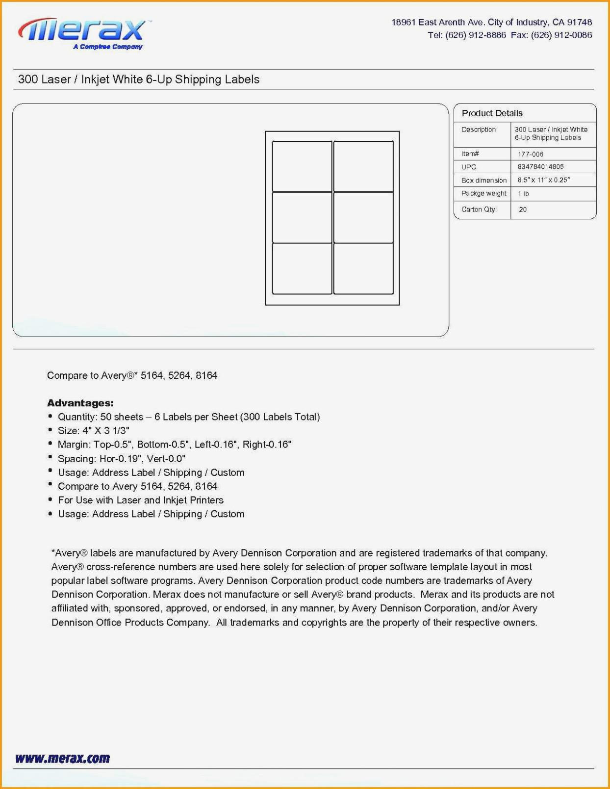 Avery Labels Templates 14 Per Sheet