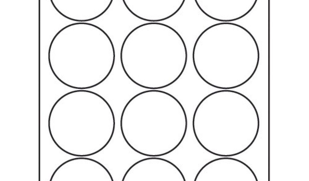 Avery Round Labels 5294 Template