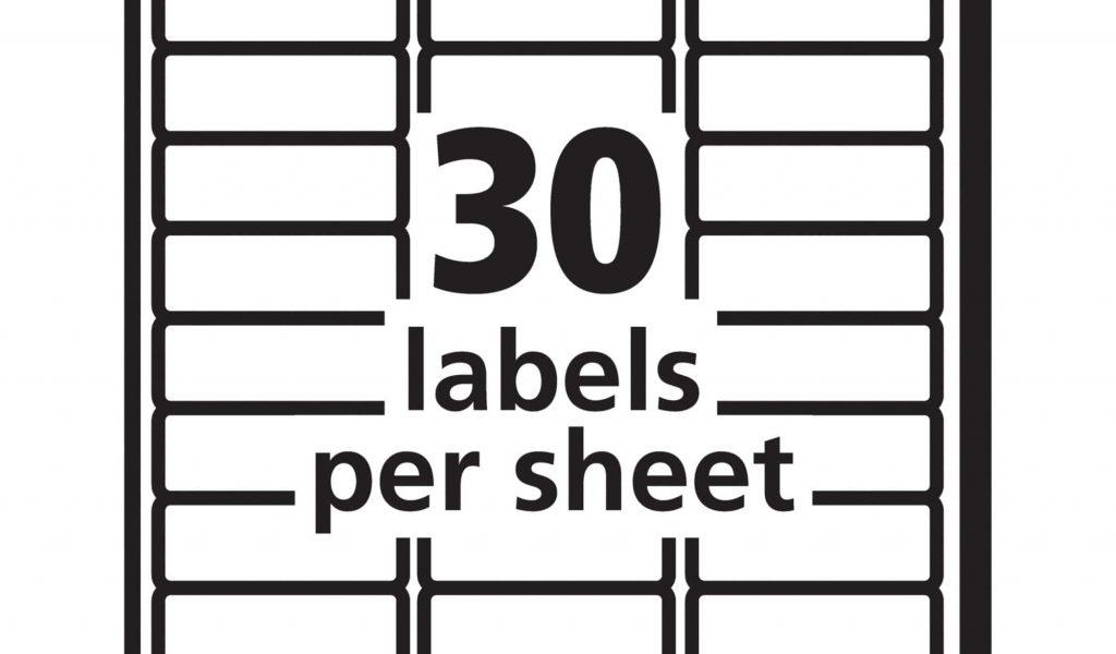 Avery Template For Labels 5195