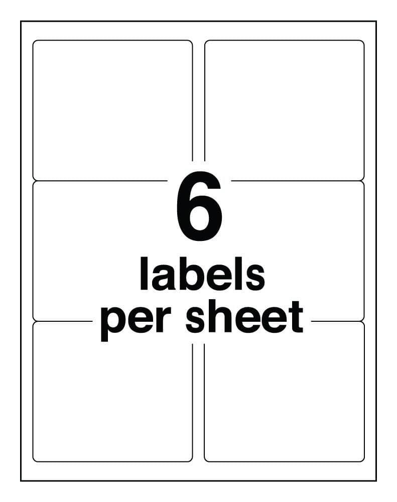 Avery Template For Labels