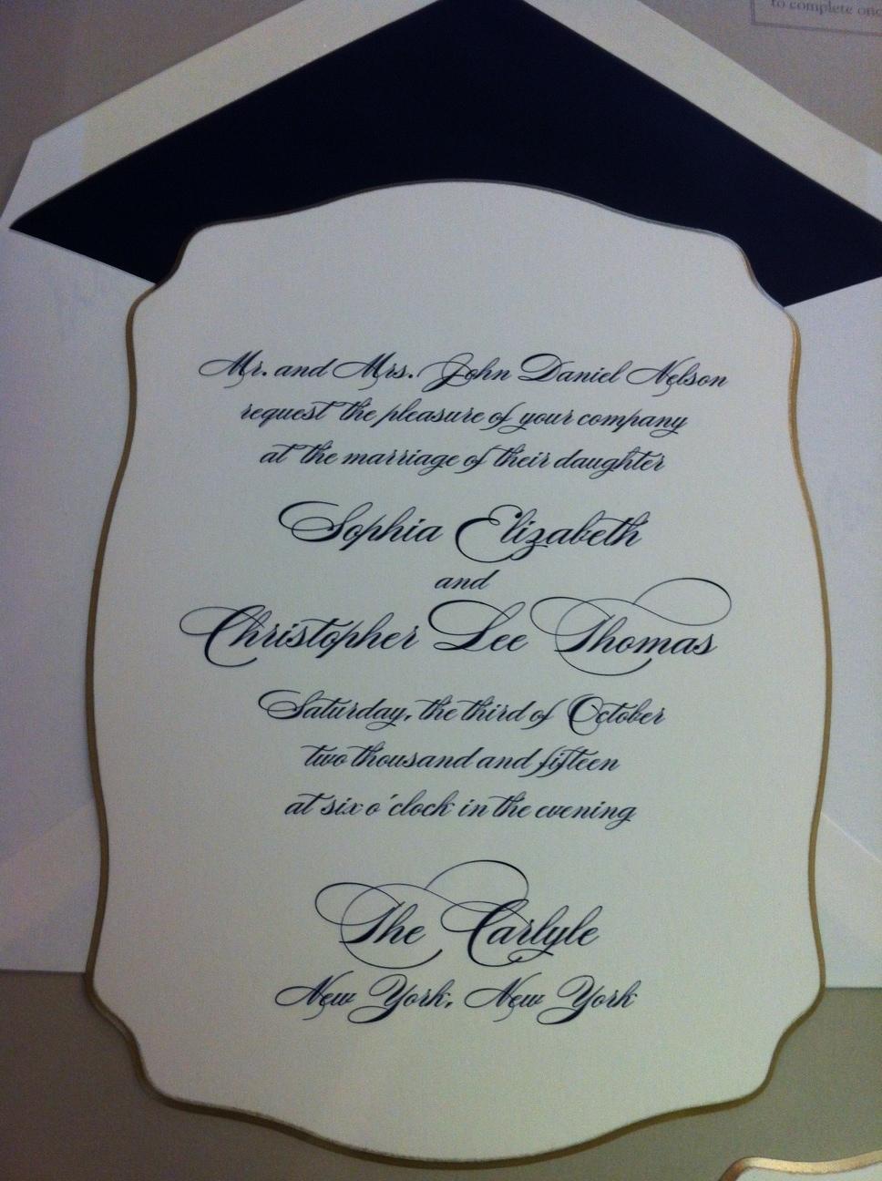 Black Tie Invitation Wording Samples