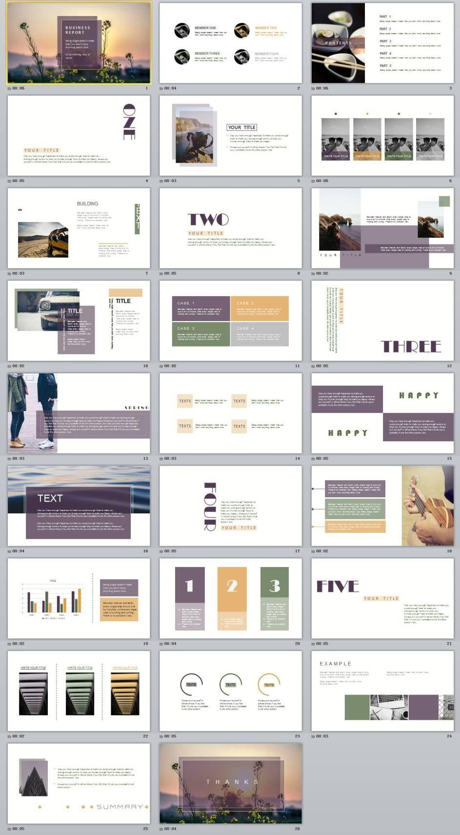 Business Powerpoint Templates 2018