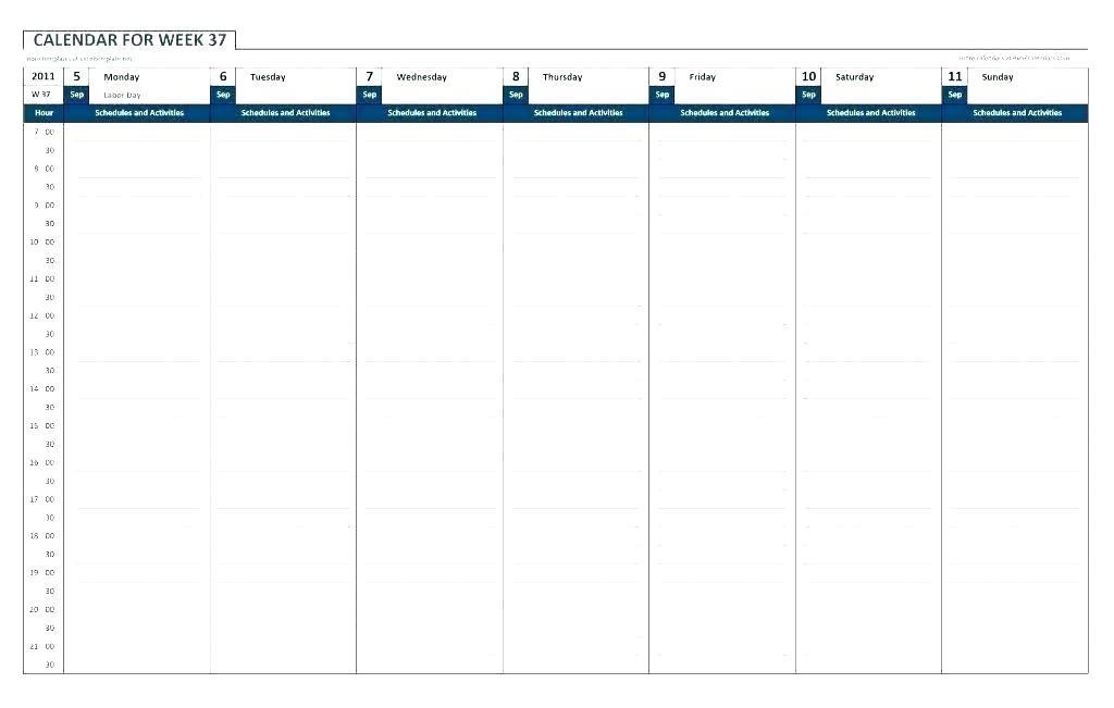 Calendar Planner Template 2017 Excel