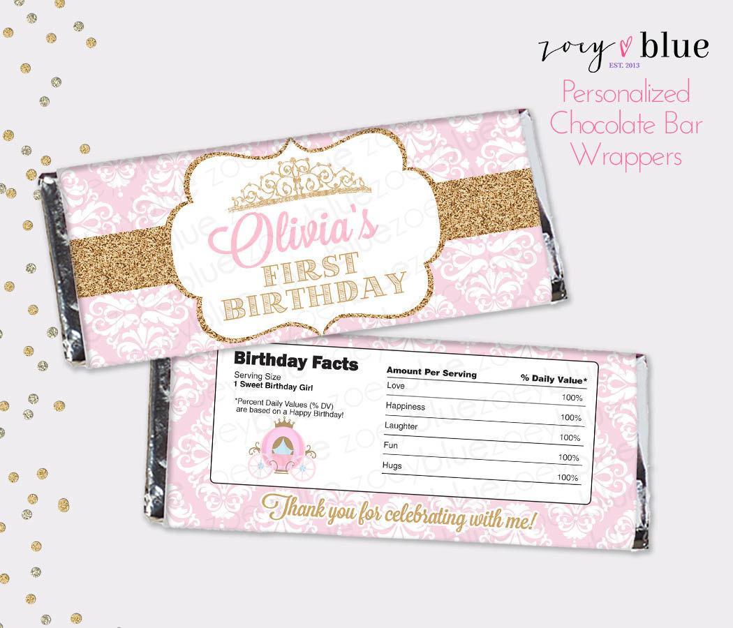 Candy Bar Wrapper Template Birthday