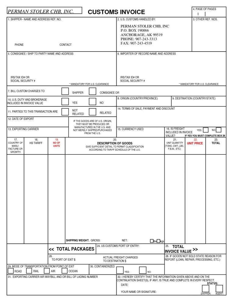 Custom Invoice Forms Quickbooks