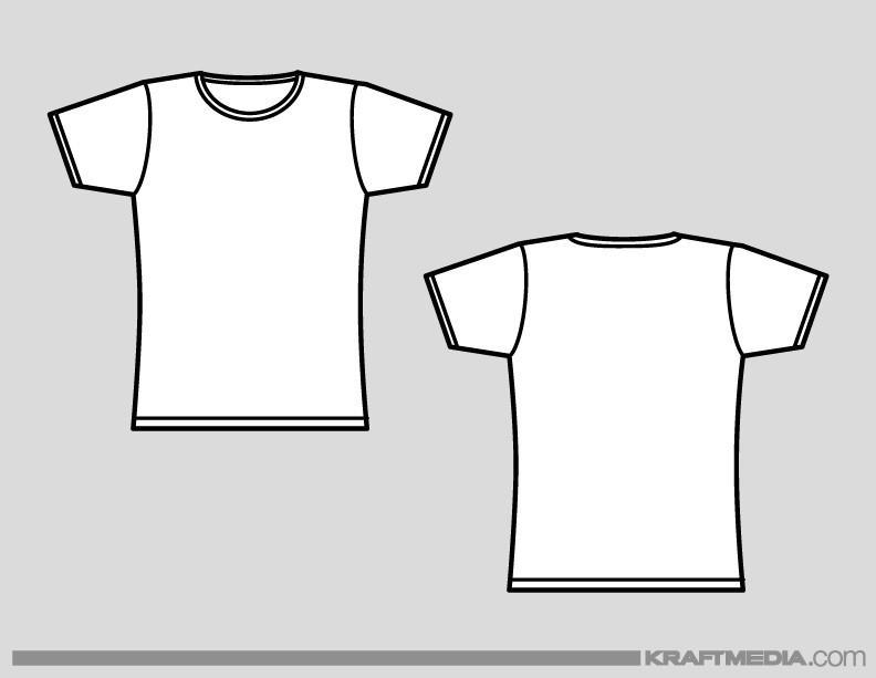 Custom T Shirt Template