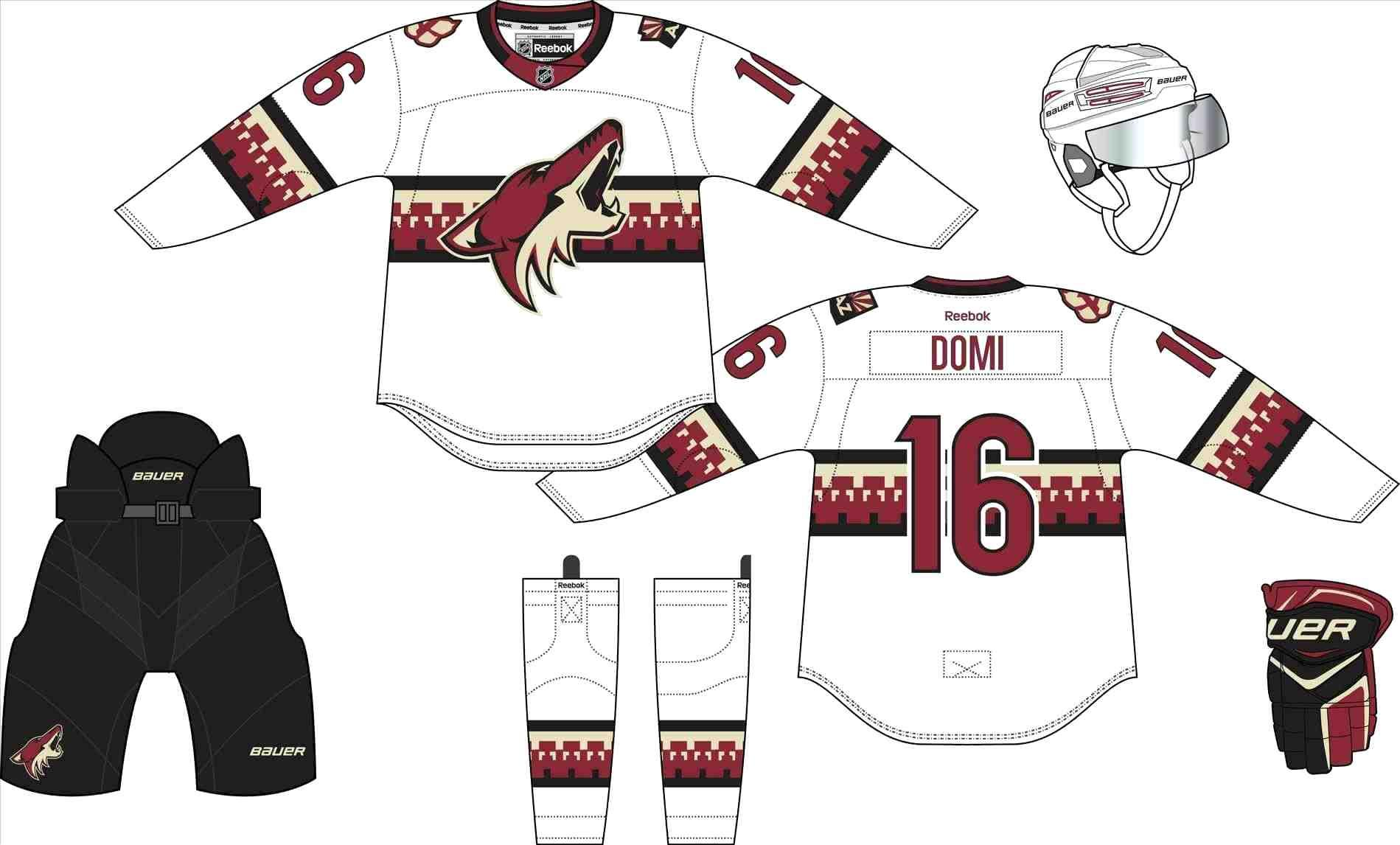 Design Your Own Hockey Jersey Template
