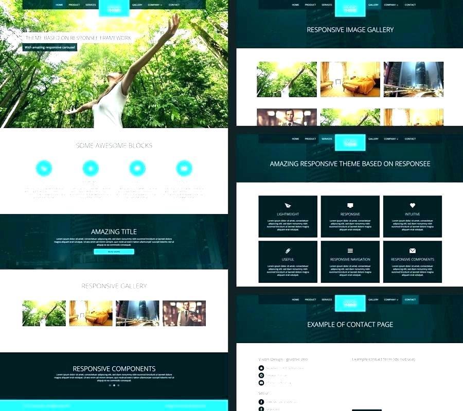 Dreamweaver Templates Responsive Design