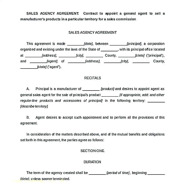 Employee Sales Commission Agreement Template Uk