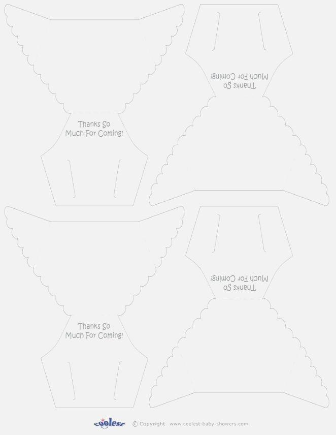 Free Diaper Invitation Template
