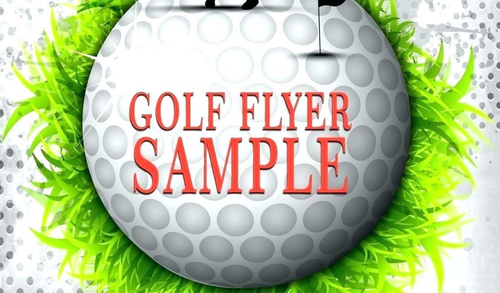 Free Golf Flyer Template Publisher