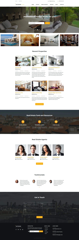 Free Real Estate Website Templates Idx