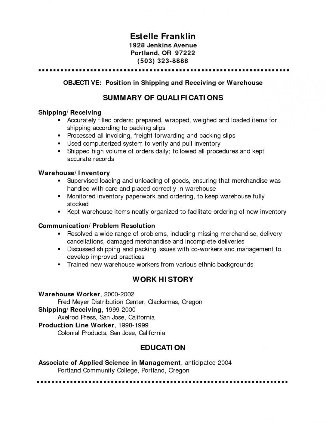 Free Resume Word Template With Photo