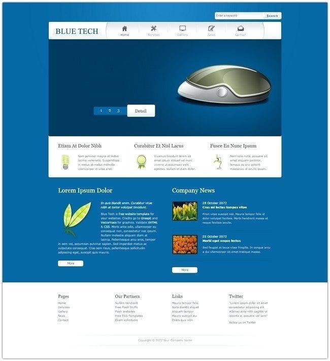 Free Website Templates For Adobe Dreamweaver