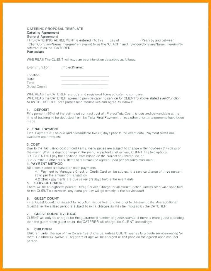Generic Request For Proposal Template
