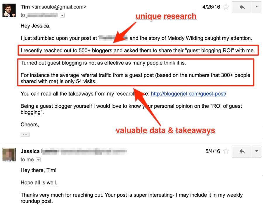 Guest Post Outreach Email Template