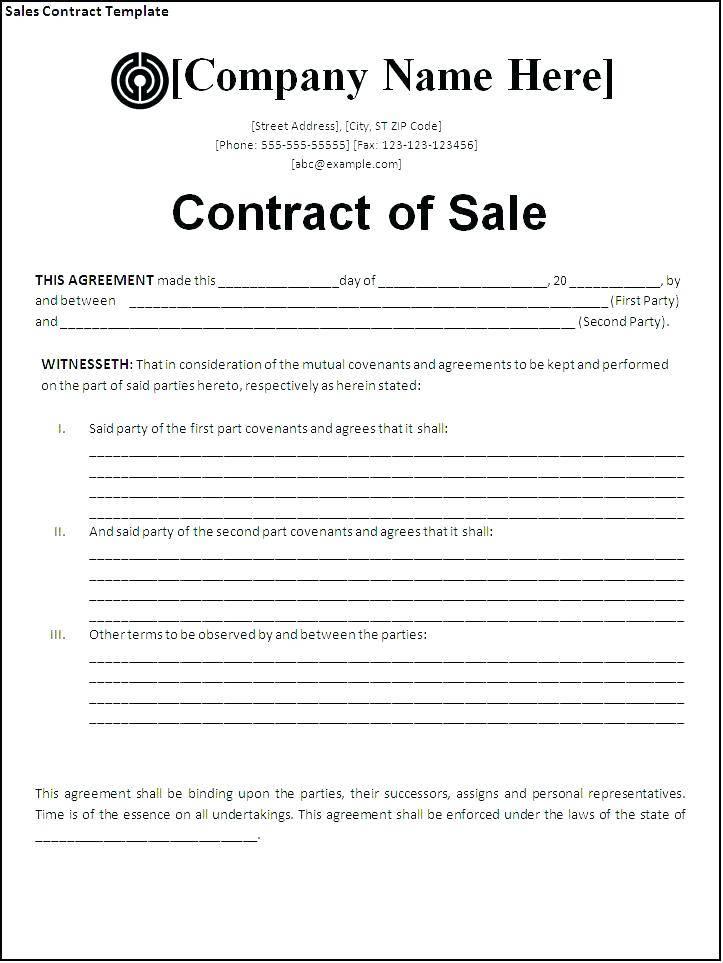 Horse Sale Contract Template Australia