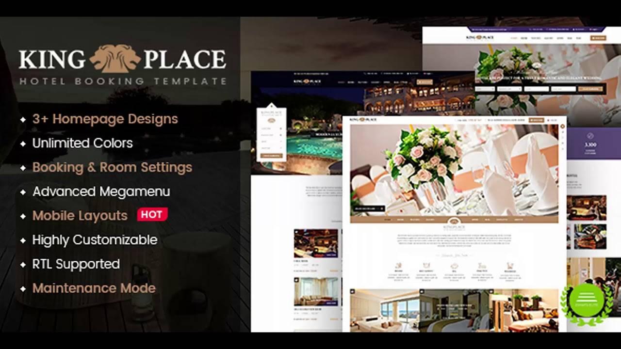 Hotel Website Templates Wordpress