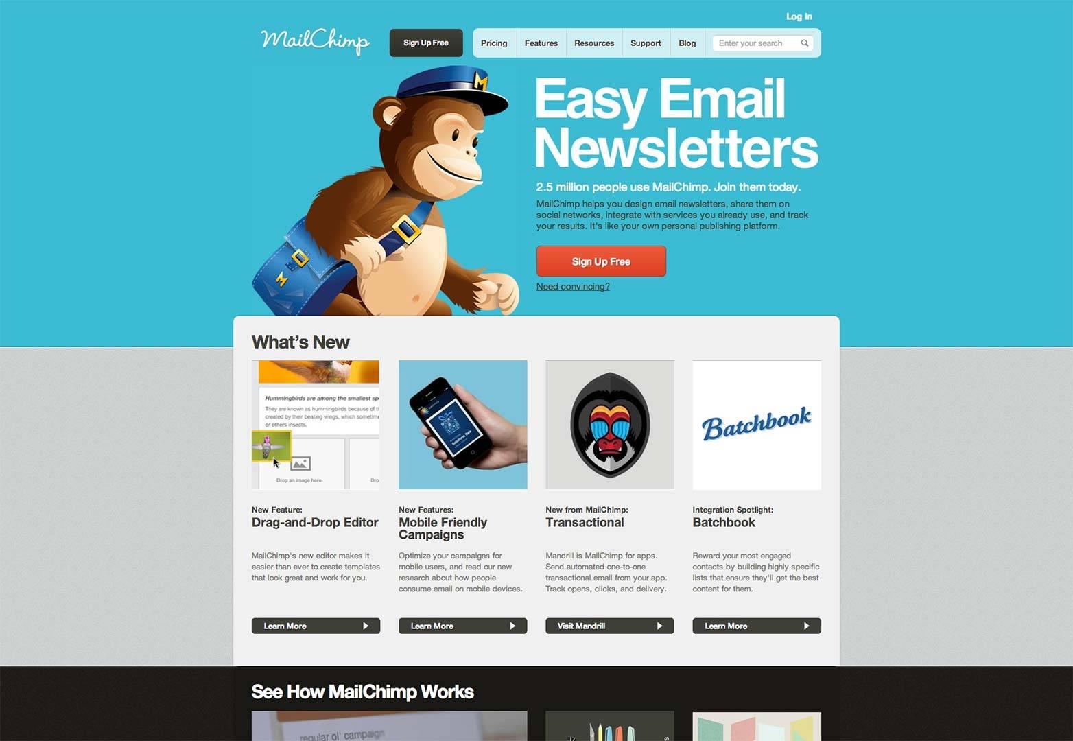 Mailchimp Newsletter Template Code