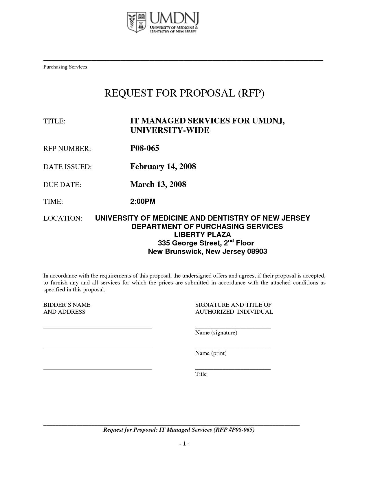 Managed Print Services Proposal Template