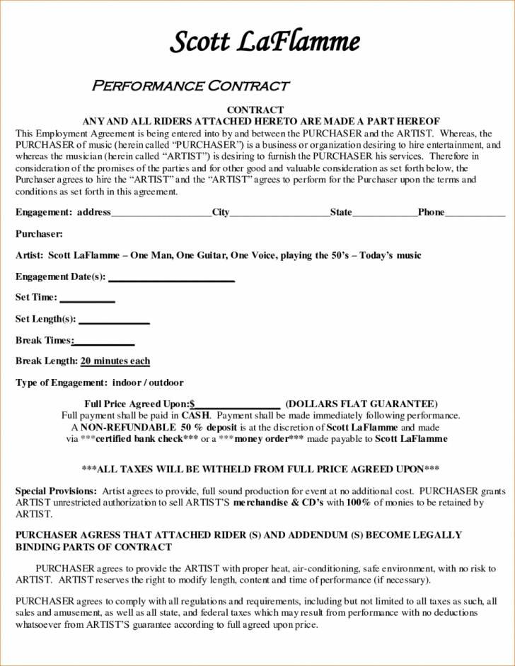 Performance Bonus Agreement Template