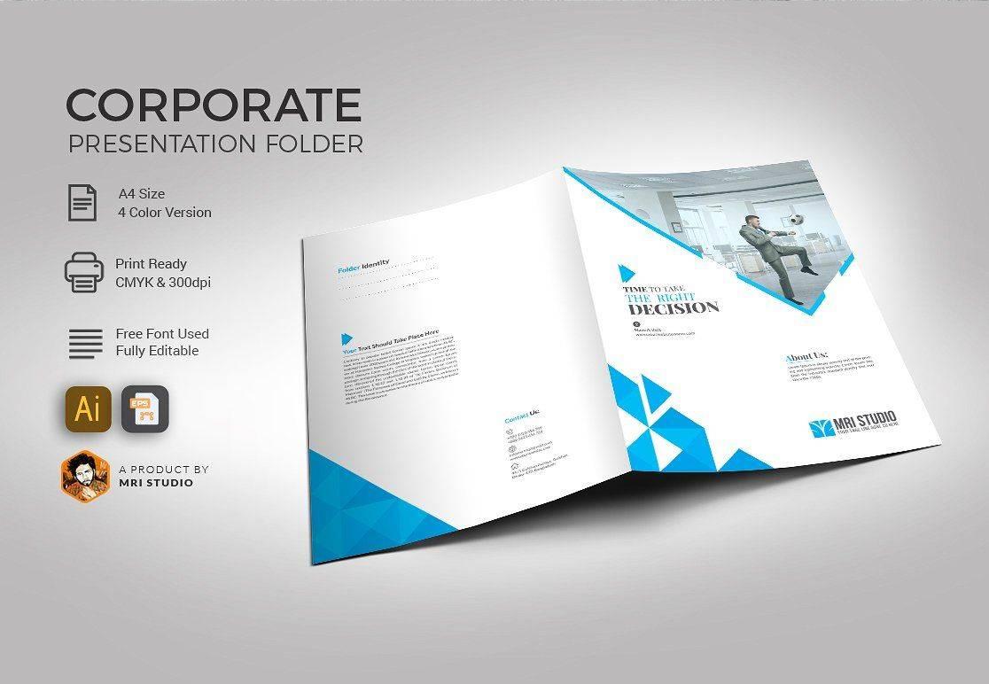 Pocket Folder Design Template